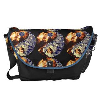 Fire & Ice Yin Yang Messenger Bag