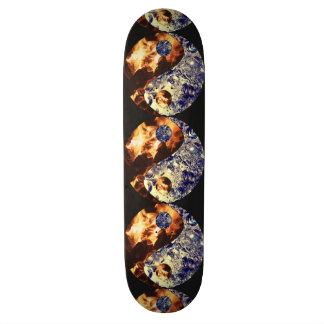 Fire & Ice Yin Yang Skateboard