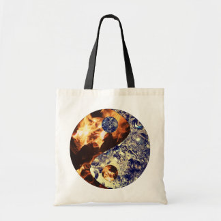 Fire & Ice Yin Yang Tote Bag