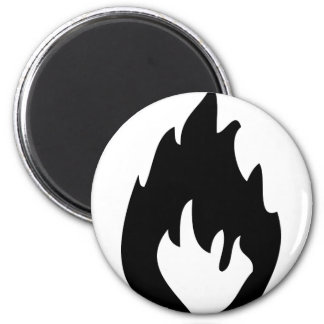 fire icon magnet