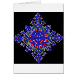 Fire in Ice Greeting Card