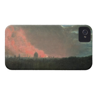 Fire in London seen from Hampstead (oil on paper l Case-Mate iPhone 4 Cases