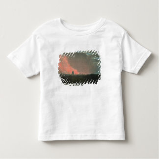 Fire in London seen from Hampstead (oil on paper l Toddler T-shirt