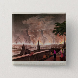 Fire in Moscow, September 1812. engraved by Button