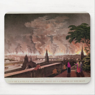 Fire in Moscow, September 1812. engraved by Mouse Pad
