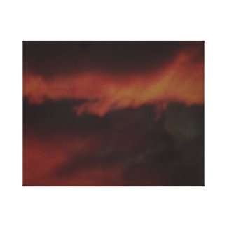 Fire in the Clouds Canvas Print