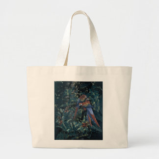 Fire in the Forest Tote Bag