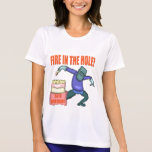 Fire In The Hole 50th Birthday Gifts Shirt