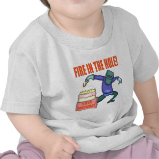 Fire In The Hole 50th Birthday Gifts Tshirts