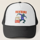 Fire In The Hole 55th Birthday Gifts Trucker Hat