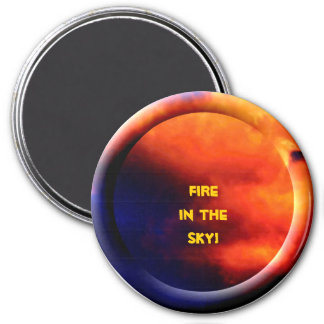 Fire in the Sky (2) Refrigerator Magnet