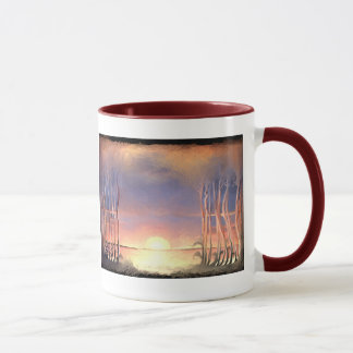 **Fire in the sky and fire in the heart** Mug