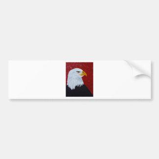 Fire In The Sky Eagle. Bumper Sticker
