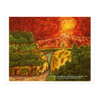 Fire in the Sky, Fire in the Sky by Jamey Lee B... Postcard