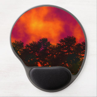 Fire in the Sky Gel Mouse Pad