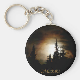 Fire in the Sky Keychain
