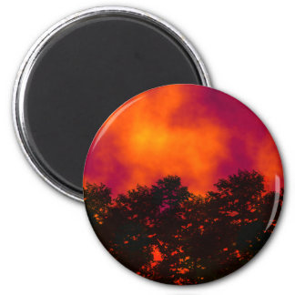 Fire in the Sky Magnet