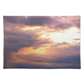 FIRE IN THE SKY PLACE MAT