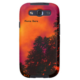 Fire in the Sky Samsung Galaxy S3 Persoanl Case Galaxy S3 Covers