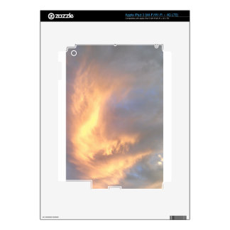 Fire in the Sky skin iPad 3 Skin