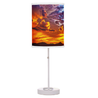 Fire in the Sky Table Lamp