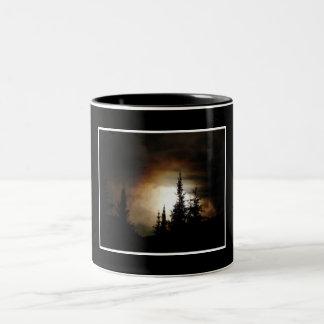 Fire in the Sky Two-Tone Coffee Mug