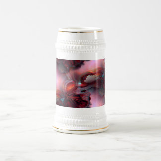 Fire Inside Abstract Art Beer Stein