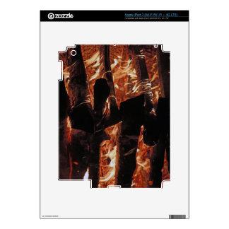 Fire iPad 3 Skins