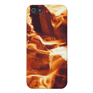 Fire! iPhone 4 Skin Case For iPhone 5