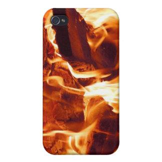 Fire! iPhone 4 Skin iPhone 4 Case
