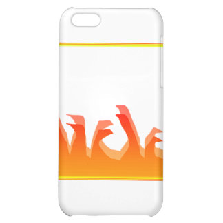 Fire iPhone 5C Cover