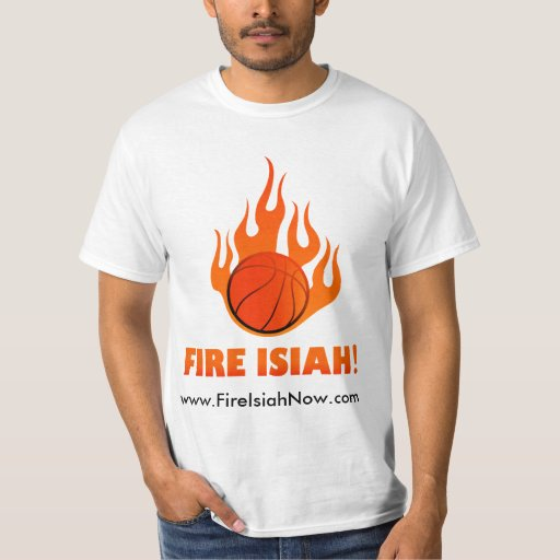 Fire Isiah Flamin Tee