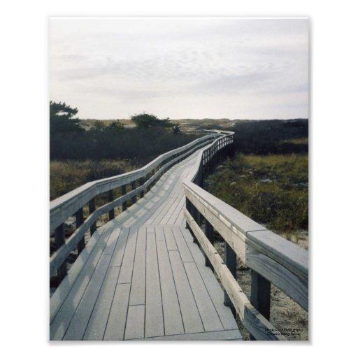 Fire Island Boardwalk Photo Print