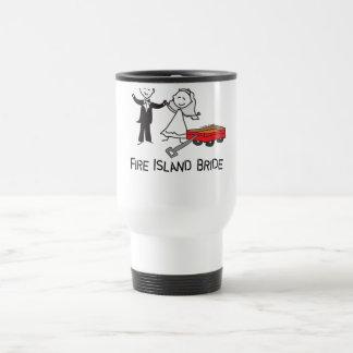 Fire Island Bridal Favors Travel Mug