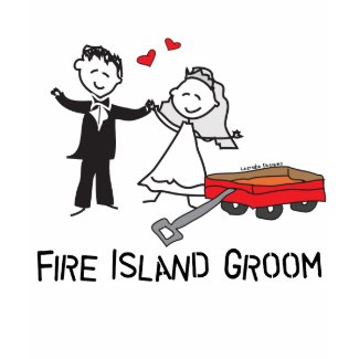 Fire Island Groom T-shirt shirt
