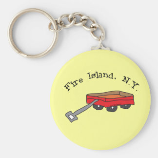 Fire Island Keychain