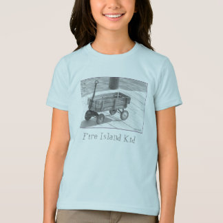 'Fire Island Kid' Vintage Wagon Kid's T-shirt