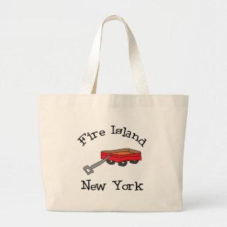 Fire Island Large Tote Bag