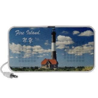 Fire Island Lighthouse Doodle Speaker