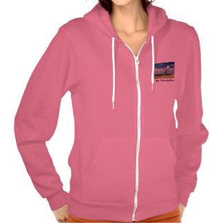Fire Island Lighthouse Ladies' Hoodie Sweatshirt