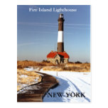 Fire Island Lighthouse, New York Postcard