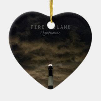 Fire Island NY. Ceramic Ornament