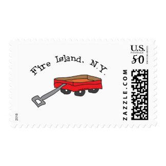 Fire Island Stamp
