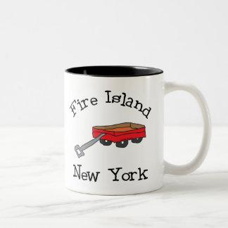 Fire Island Two-Tone Coffee Mug