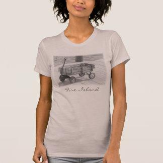 'Fire Island Wagon' Ladies' T-shirt