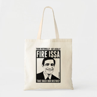 FIRE ISSA INEXPENSIVE TOTE BAG