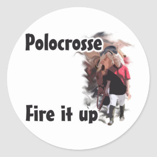 Fire it Up Classic Round Sticker