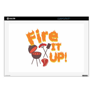 """Fire It Up Decals For 17"""" Laptops"""