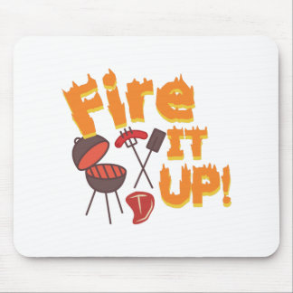 Fire It Up Mouse Pad