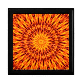 Fire Kaleidoscope Jewelry Boxes